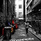 Rubish collection - Hosier lane Melbourne by mialinnea