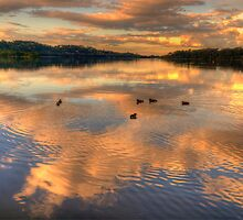 Serenity - Narrabeen Lakes ,Sydney Australia - The HDR Experience by Philip Johnson