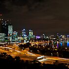 Perth City Lights War Memorial Lookout 1 by Jaxybelle