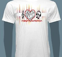 Fresh Ambition Flagship Logo T-Shirt by freshambition91