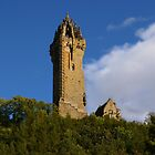 The Wallace Monument Stirling Scotland by John Butterfield