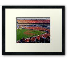 Shea Stadium - The Final Season Framed Print