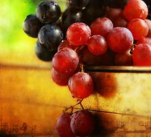 Two Grapes by Dragos Dumitrascu