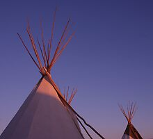 sunset tipi's by millymuso
