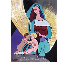 The Virgin with the Christ Child and Saint John the Baptist – Inspiration after Luini Photographic Print