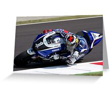 Jorge Lorenzo 99 1 Greeting Card