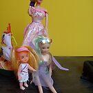 Doll family by Ana Belaj