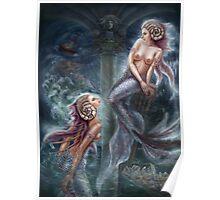 Sirens - Fantasy Art Poster