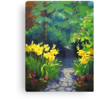 Discovery Garden Canvas Print