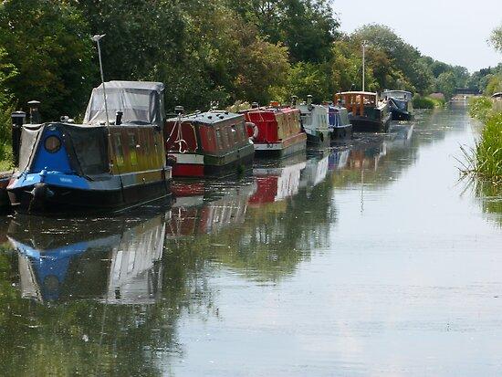 Barging Past by John Dunbar
