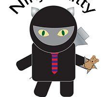 Ninja Kitty For President by ValeriesGallery