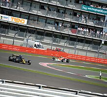 Lotus vs McLaren at Silverstone Classics by Tom Clancy