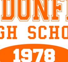 Haddonfield High School Sticker