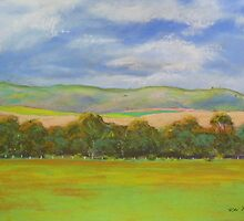 South Australian Pastoral #1  by Virginia McGowan