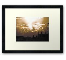 Wild Sunset Framed Print