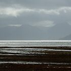 Sea shore and mountains, Scotland by Alex Drozd