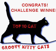 Groovy Kitty Cats - Challenge Winner Banner by viennablue