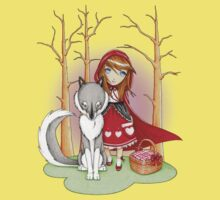 Red Riding Hood and Wolfie Kids Clothes