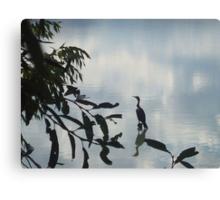 Heron at Crown Hill Canvas Print