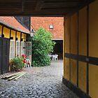 Courtyard by Heather Thorsen