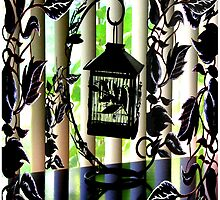 """Vines & Blinds: Birdcage"" by Steve Farr"