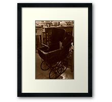 Old Timey Things Framed Print