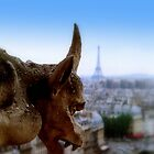 Gargoyle in Paris by Charmiene Maxwell-batten