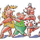 Piggy Conga by Debbie Diamond