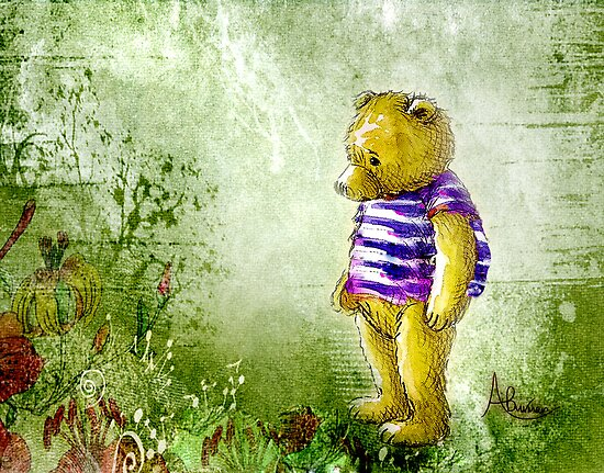 Botanical Bear by Angela  Burman