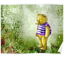 Botanical Bear Poster