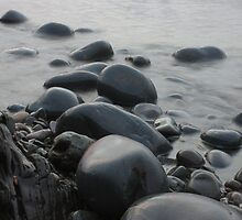Misty Pebbles by JohnBuchanan