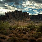 Morning in the Superstitions by Saija  Lehtonen