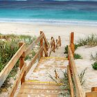 Steps To An Esperance Beach by Eve Parry