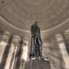 Jefferson Memorial by Shelley Neff