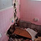 Pink Bathroom by ashley hutchinson