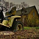 Lawnmower Grave by BacktrailPhoto