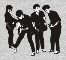 The Silver Beatles by superlungs