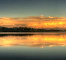 Natures Canvas #1 (35 Exposure HDR) - Narrabeen Lakes, Sydney - The HDR Experience by Philip Johnson