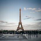 Eiffel Tower PARIS by Melanie Viola