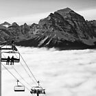 Chairlift to Heaven by Ryan Davison Crisp