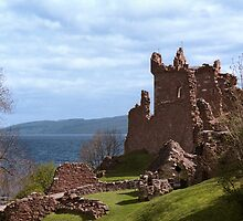 Urquhart Castle by Peter Martin
