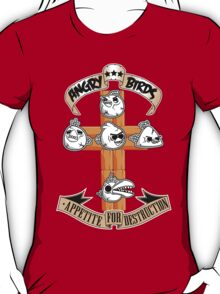 Angry Birds Appetite for Destruction T-Shirt