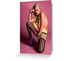 Funky Clothes Greeting Card
