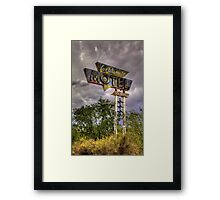 Los Alamos Motel on Route 66 Framed Print
