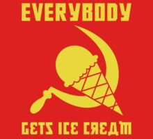 Everybody Gets Ice Cream - Yellow by absinthetic