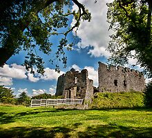 Restormel Castle by Simon Marsden