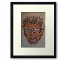 chisel & bang Framed Print