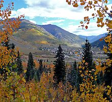 Overlooking Silverton, Colorado, USA by Margaret  Hyde