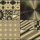 sepia pattern IV by leapdaybride