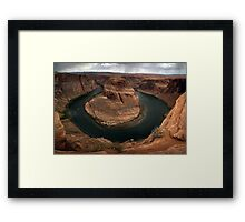 Horseshoe Bend Full Bend Framed Print